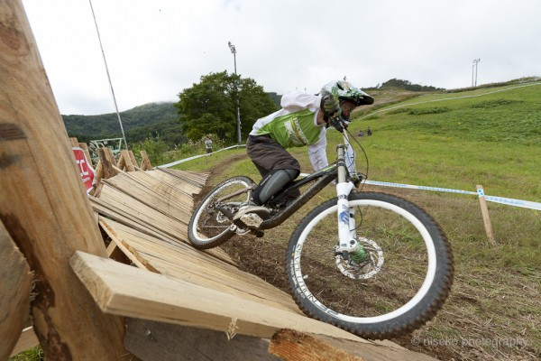 The MTB course was in full swing!