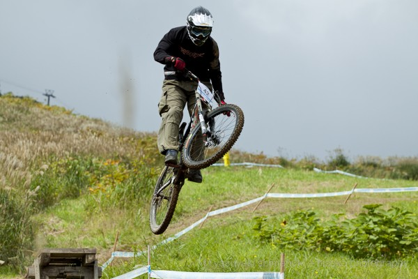 Downhill race comp