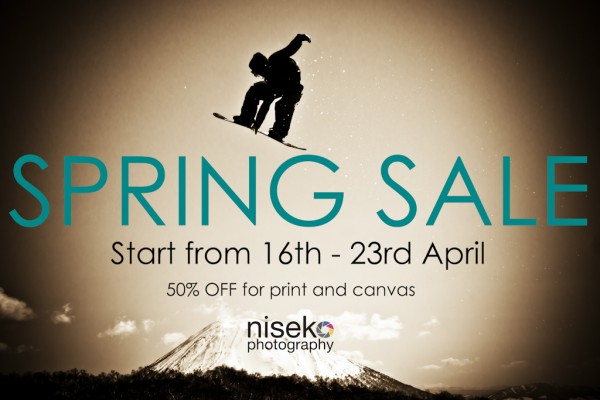 SPRING SALE-start from 16th-23rd April