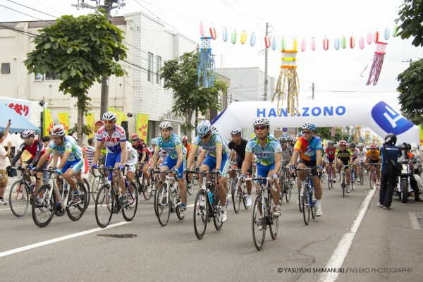 HANAZONO HILL CLIMB COMP 2011-Kutchan potato festival event, almost 500 people!