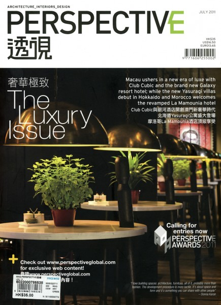 Perspective - cover July 2011, great magazine, check it out.